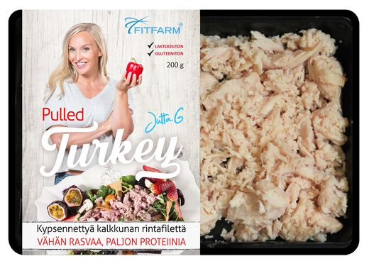 Pulled Turkey 200g